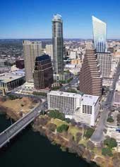 proposed skyscrapers in central Austin