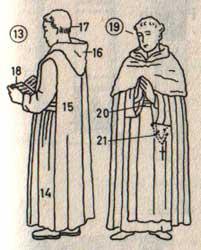Duden Bildwörterbuch - Mönche