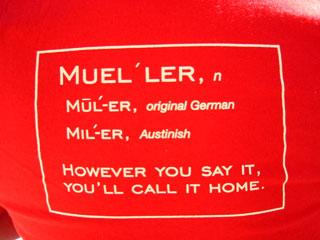 Mueller t-shirt