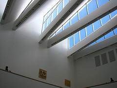 Blanton Museum, interior