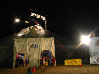 Circus Chimera big top