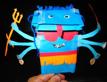 Kali puppet